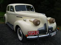 cream car