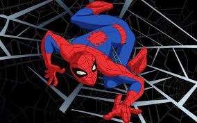 animated spider man