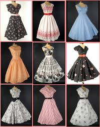 clothing styles 1950