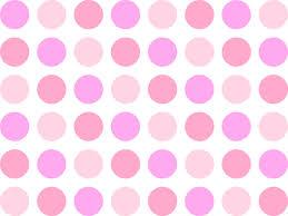 pink polka dots wallpaper