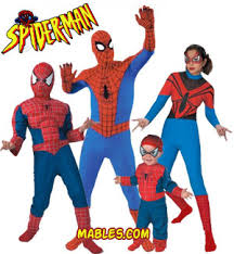 all spiderman costumes