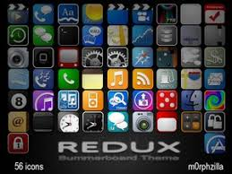 blackberry application icons