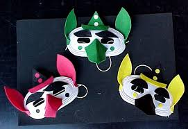 elf masks