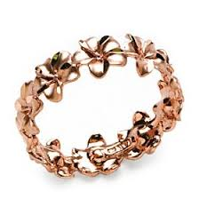 antique rose gold rings