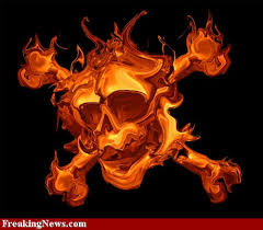 fire cross tattoos