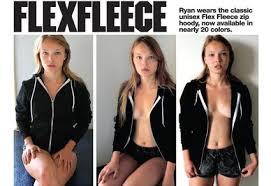 american apparel flex fleece hoody