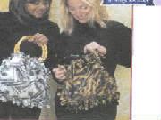 fleece purse