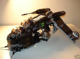 old lego republic gunship