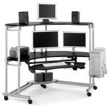 multi computer desk