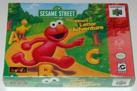 elmo video game