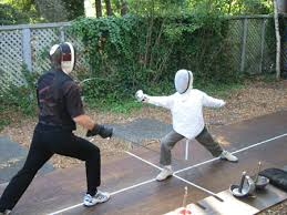 fencing children