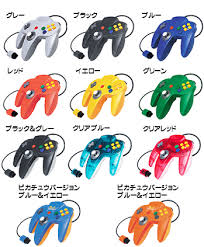 controllers nintendo 64