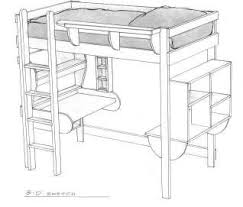 loft bed patterns
