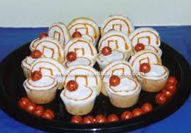 basketball cupcake