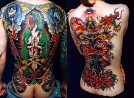 BODY TATTO ART