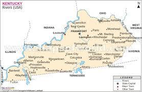 map of kentucky rivers