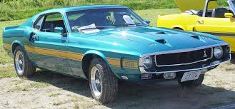 mustang shelby 1969