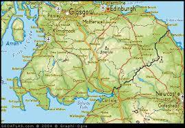map of scottish highlands