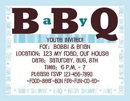 bbq baby shower