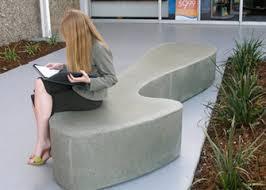 precast concrete benches