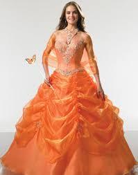 neon orange dresses