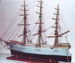 parts of a clipper ship