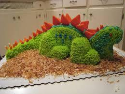 dinosaur cake pattern