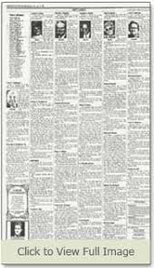 obituaries newspaper