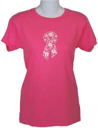 pink ribbon t shirts