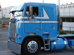 old cabover trucks