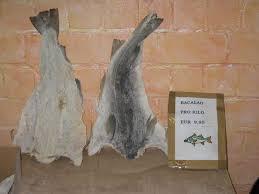 dried cod fish