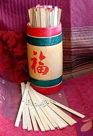 fortune sticks