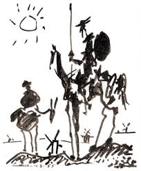 picasso don quixote original