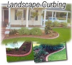 landscape curbing pictures