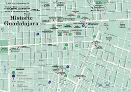 guadalajara maps