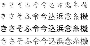japanese writings