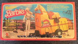 barbie horse trailer