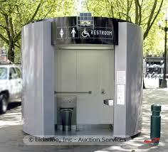 automated public toilet