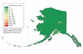 alaska population map