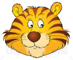 cartoon tiger faces