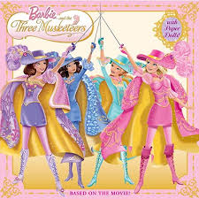 barbie and the three musketeers characters