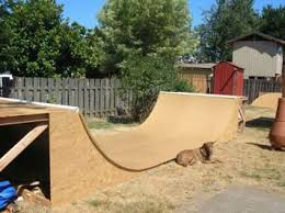 how to make a skate ramp