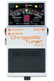 chromatic tuner boss