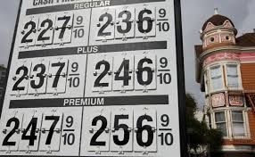 gas price signs
