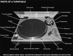 record player parts