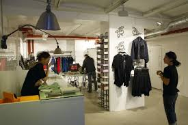 clothing design store