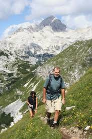 hiking alps