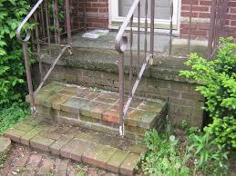 exterior stair rails