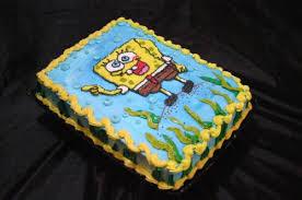pastel de bob esponja