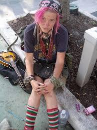crust punk fashion